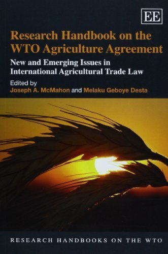 Research Handbook on the WTO Agriculture Agreement...
