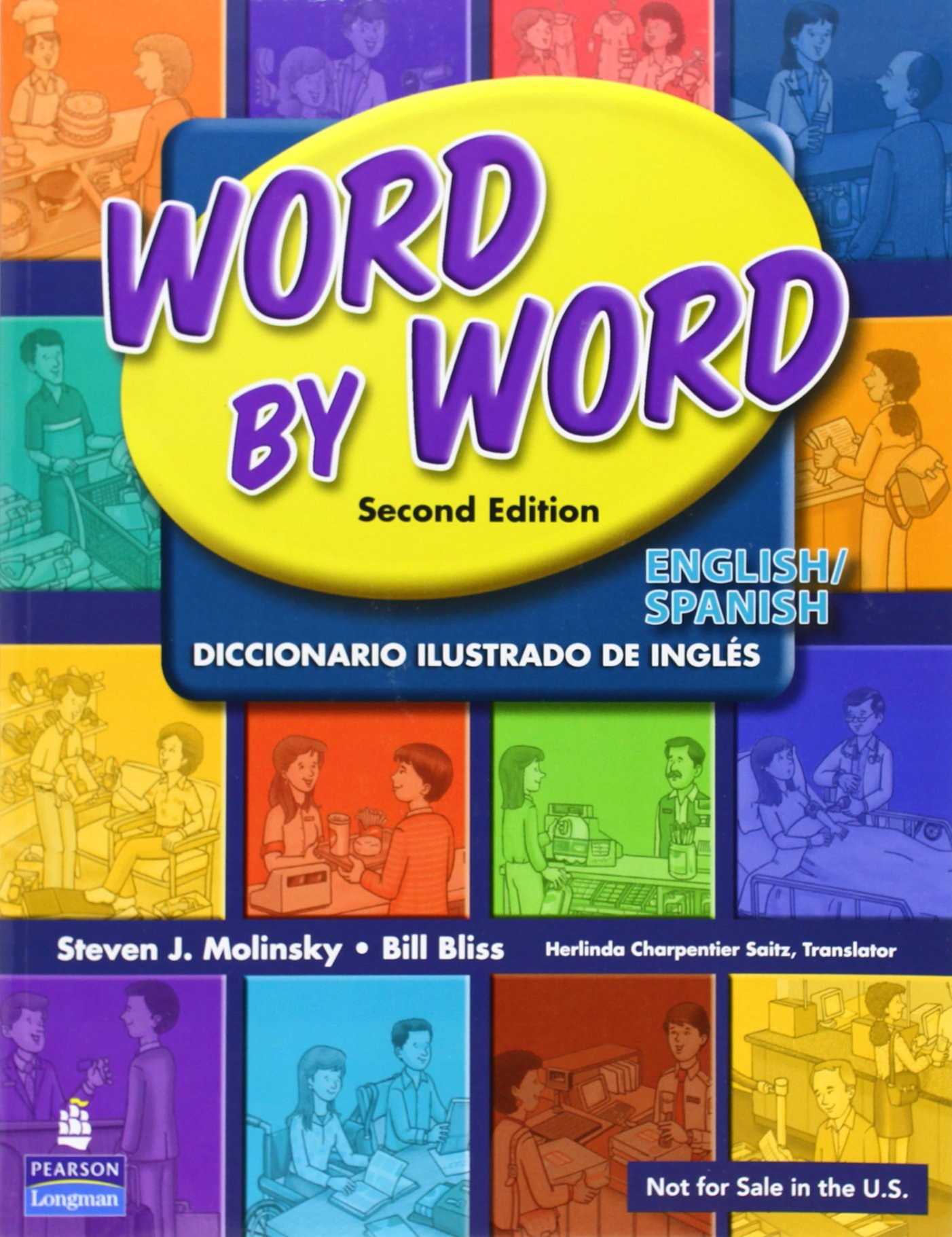 WORD BY WORD INTL ENG/SPAN PICTURE DICT