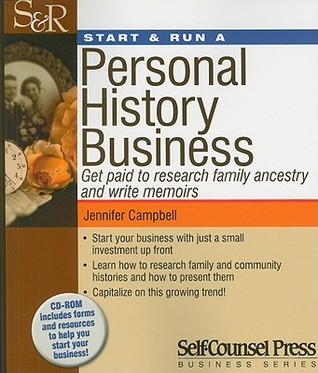StartRun a Personal History Business: Get Paid to ...