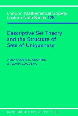 Descriptive Set Theory and the Structure of Sets o...