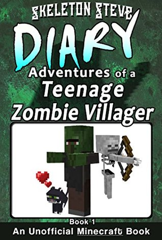 Minecraft Diary of a Teenage Zombie Villager - Boo...