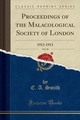 Proceedings of the Malacological Society of London...